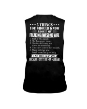 5 THING ABOUT MY AWESOME WIFE2 Sleeveless Tee thumbnail