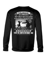 X-I'M A LOVING DAD OF THE WORLD'S BEST DAUGHTER Crewneck Sweatshirt thumbnail