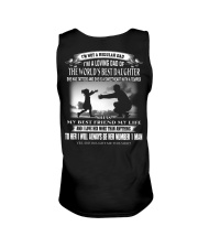 X-I'M A LOVING DAD OF THE WORLD'S BEST DAUGHTER Unisex Tank thumbnail