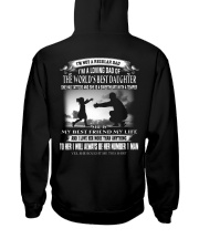 X-I'M A LOVING DAD OF THE WORLD'S BEST DAUGHTER Hooded Sweatshirt thumbnail