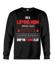 X-A LOVING MOM Crewneck Sweatshirt thumbnail