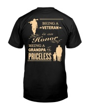 Being a Veteran is an Honor Classic T-Shirt thumbnail
