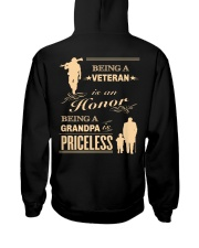 Being a Veteran is an Honor Hooded Sweatshirt thumbnail