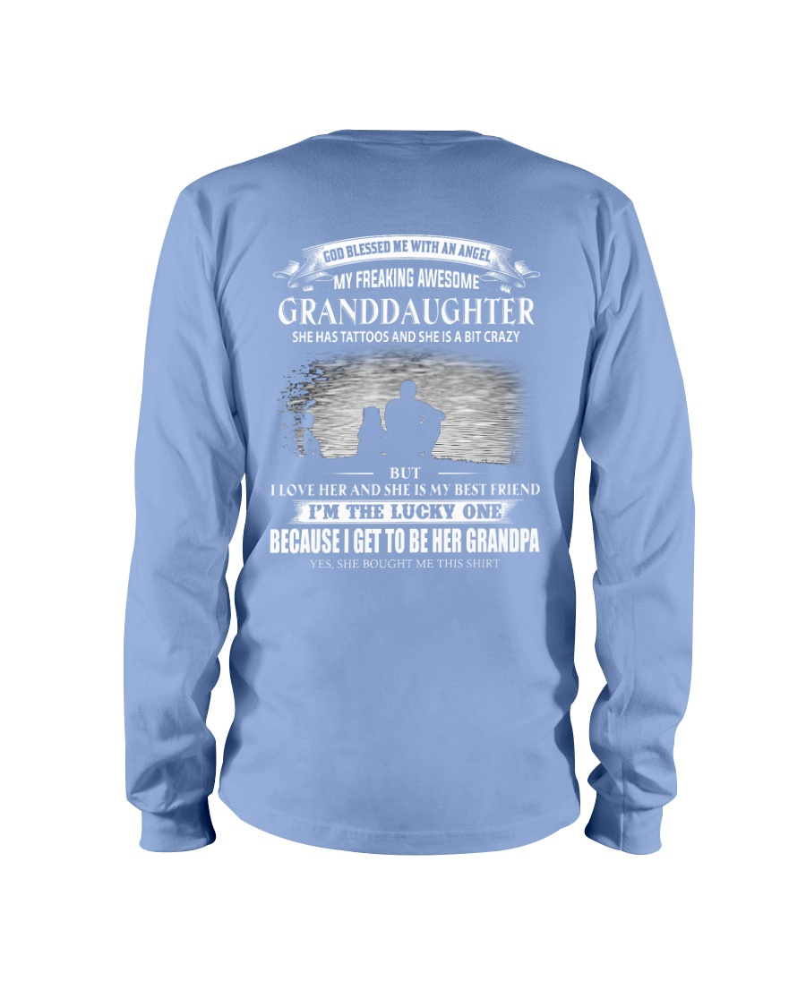 I LOVE MY GRANDPA TATTOOS 2 Long Sleeve Tee