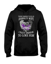 TO LOVE HIM Hooded Sweatshirt front