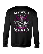 MY WORLD MY TATTOOED BEAST Crewneck Sweatshirt thumbnail