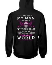MY WORLD MY TATTOOED BEAST Hooded Sweatshirt thumbnail