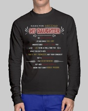 RULE FOR DATING MY DAUGHTER Long Sleeve Tee lifestyle-unisex-longsleeve-front-1