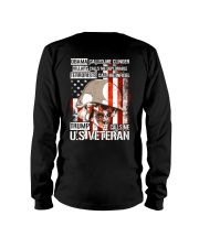 LIMITED EDITION - CALL ME US VETERAN Long Sleeve Tee back