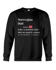 NORWEGIAN DAD 1 Crewneck Sweatshirt thumbnail