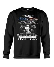 American woman may Crewneck Sweatshirt thumbnail