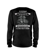 A VETERAN FOUGHT TO PROTECT WHAT HE LOVES Long Sleeve Tee thumbnail