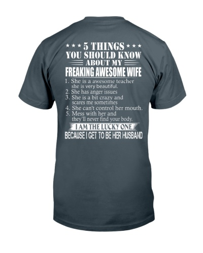 5 THING ABOUT MY WIFE TEACHER