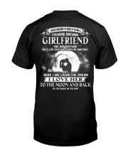 LOVE GIRLFRIEND TO THE MOON AND BACK - TATTOOS Classic T-Shirt back