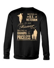 LIMITED EDITION - BEING A US VETERAN - GRANDPA Crewneck Sweatshirt thumbnail