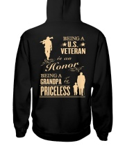 LIMITED EDITION - BEING A US VETERAN - GRANDPA Hooded Sweatshirt thumbnail