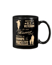 LIMITED EDITION - BEING A US VETERAN - GRANDPA Mug thumbnail