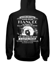 LOVE FIANCEE TO THE MOON AND BACK - TATTOOS Hooded Sweatshirt thumbnail
