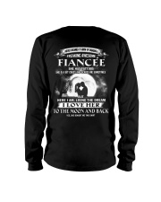 LOVE FIANCEE TO THE MOON AND BACK - TATTOOS Long Sleeve Tee thumbnail