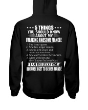 5 THINGS ABOUT MY FIANCEE Hooded Sweatshirt thumbnail