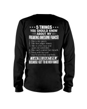 5 THINGS ABOUT MY FIANCEE Long Sleeve Tee thumbnail