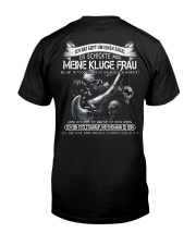 KLUGE FRAU - LIMITED EDITION Classic T-Shirt back