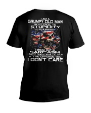 I'm A Grumpy Old Man -  I Live In Missouri V-Neck T-Shirt thumbnail