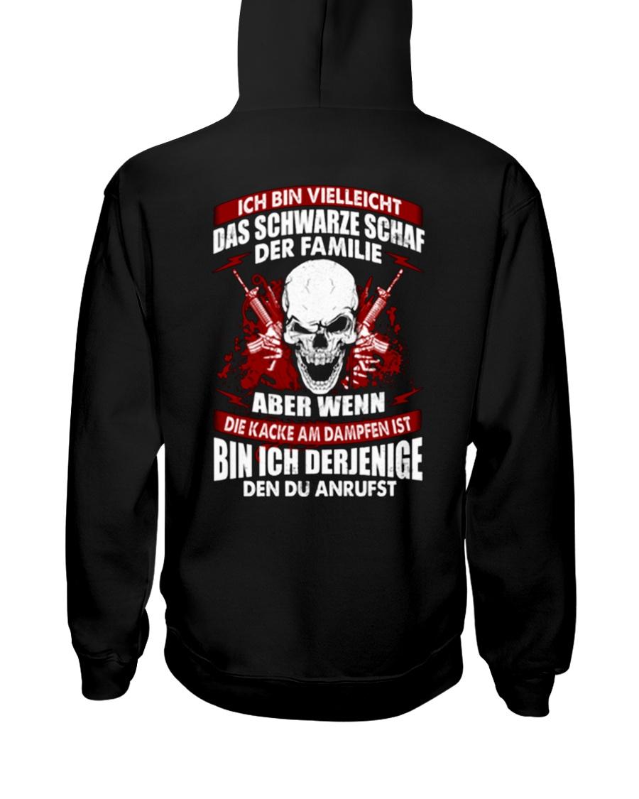 DAS SCHWARZE SCHAF Hooded Sweatshirt