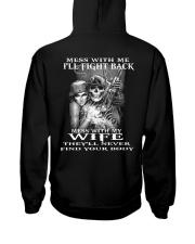 MESS WITH MY WIFE  Hooded Sweatshirt thumbnail