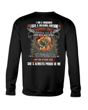 I AM A WIDOWER Crewneck Sweatshirt thumbnail