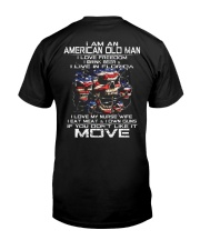 I Am An American Old Man - I Love My Nurse Wife Classic T-Shirt tile