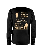 Being a US Veteran is an Honor Long Sleeve Tee thumbnail