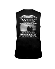 I LOVE MY WIFE TO THE MOON AND BACK Sleeveless Tee thumbnail