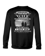 I LOVE MY WIFE TO THE MOON AND BACK Crewneck Sweatshirt thumbnail
