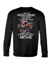 I AM AN ASSHOLE HUSBAND Crewneck Sweatshirt thumbnail