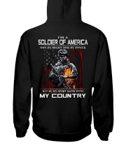 I'm A Soldier Of AMERICA - I Love My Country Hooded Sweatshirt thumbnail
