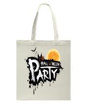 happy halloween Tote Bag back