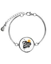 happy halloween Metallic Circle Bracelet thumbnail