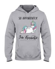 SO APPARENTLY I'M DRAMATIC  Hooded Sweatshirt thumbnail