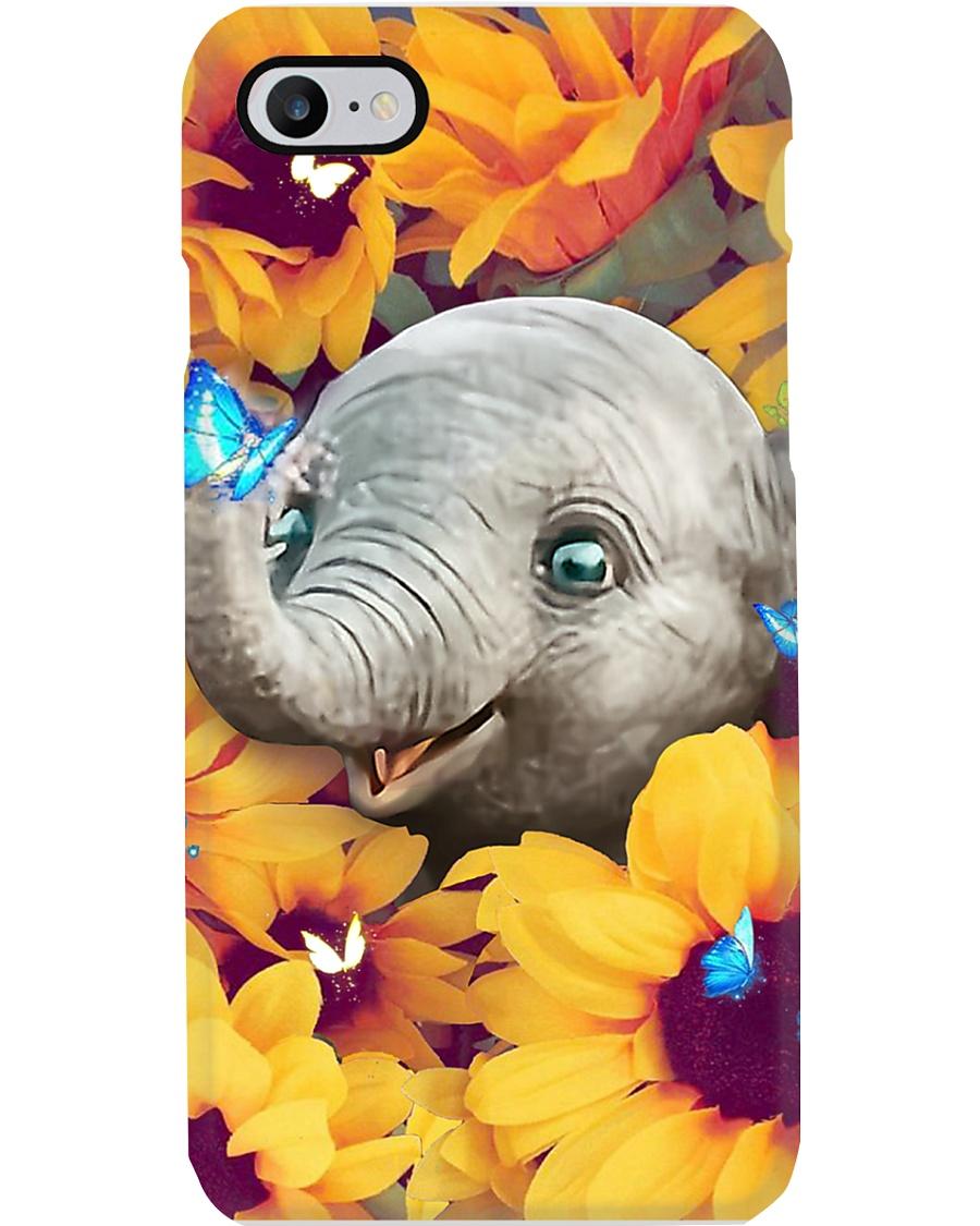 BABY ELEPHANT SUNFLOWER  Phone Case