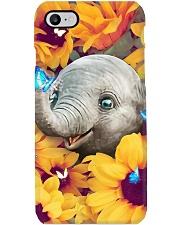 BABY ELEPHANT SUNFLOWER  Phone Case i-phone-7-case