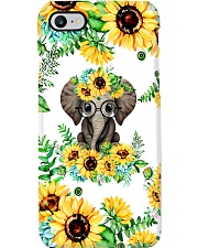 ELEPHANT SUNFLOWER  Phone Case i-phone-7-case