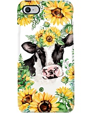 COW AND SUNFLOWER PHONECASE Phone Case i-phone-7-case