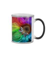 Sunflower - Dragonfly Color Changing Mug thumbnail