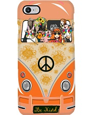 A girl and her animals living life in peace Phone Case i-phone-7-case