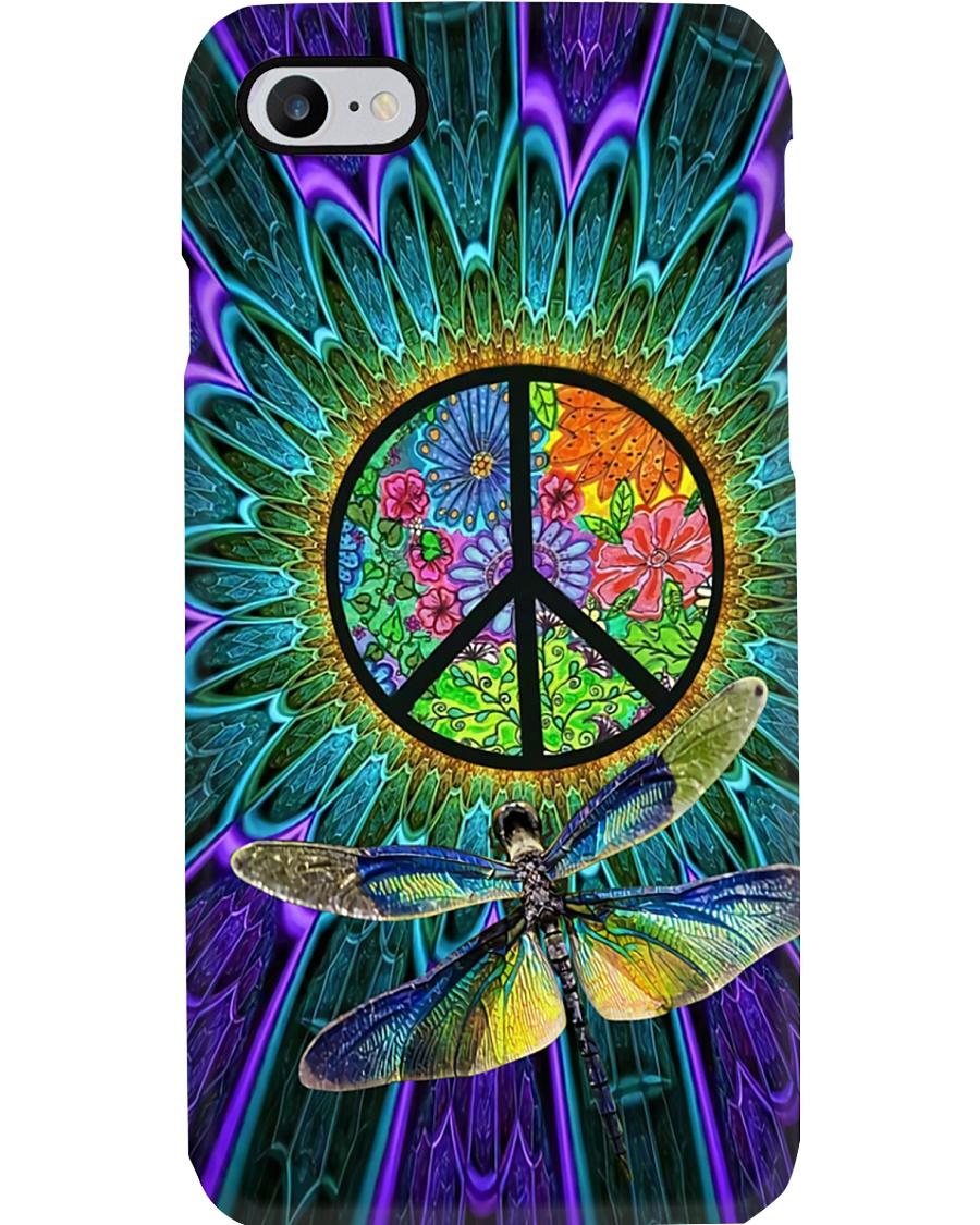 Flower Dragonfly Phone Case
