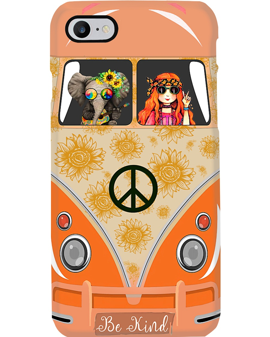 A girl and her animals living life in peace Phone Case