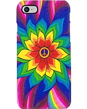 Peace Sunflower Art Phone Case i-phone-7-case
