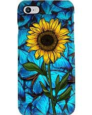 Sunlower butterflies Phone Case i-phone-7-case