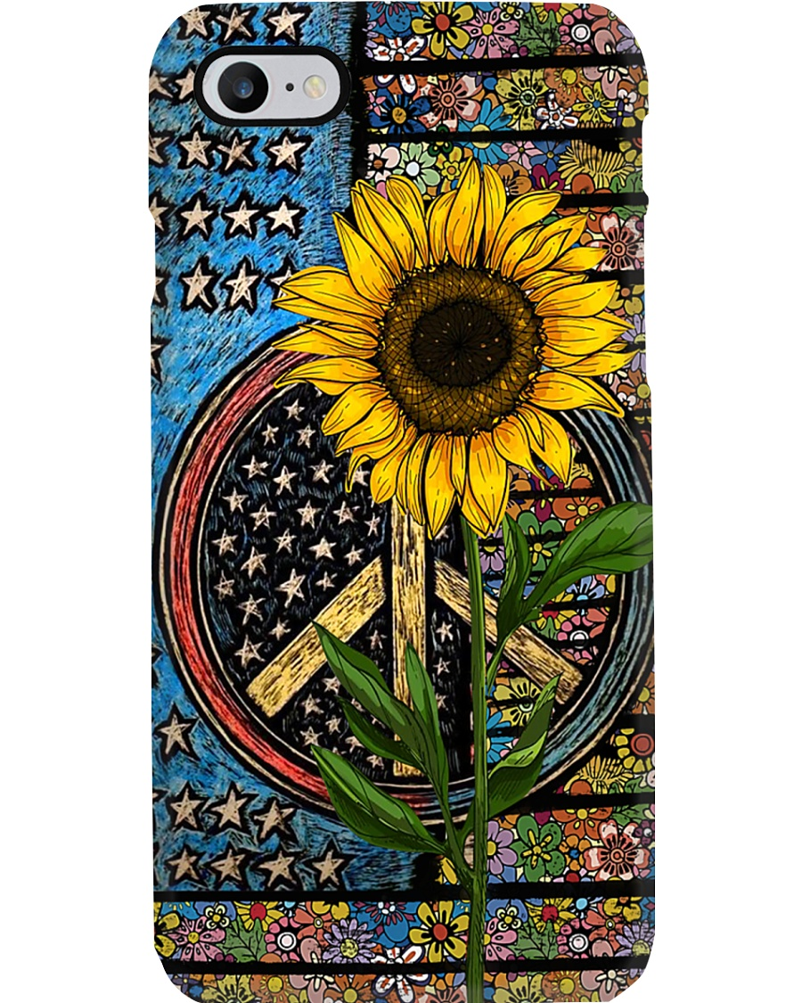 Sunflower Flag Phone Case